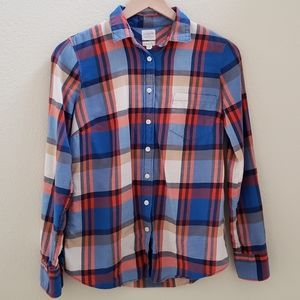 J. Crew Perfect Fit Flannel XS